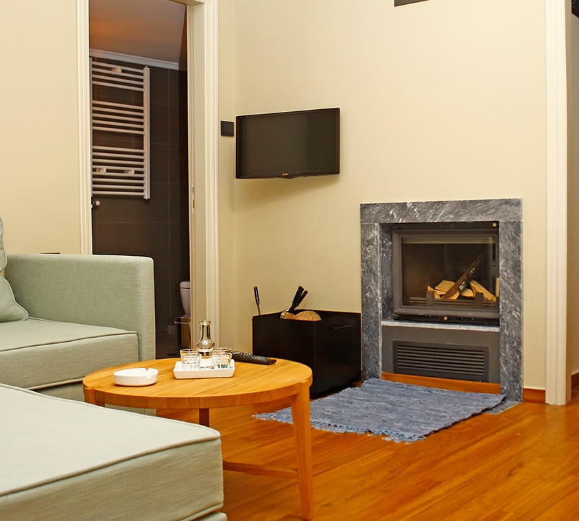 FAMILY APARTMENT WITH FIREPLACE